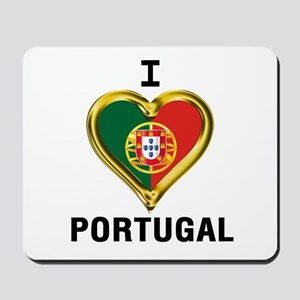 I HEART PORTUGAL Mousepad