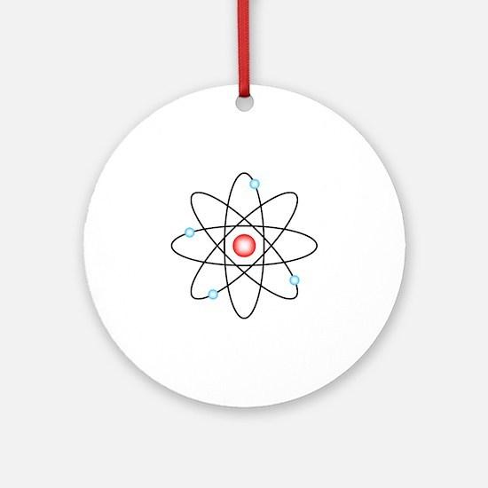 Atomic Round Ornament