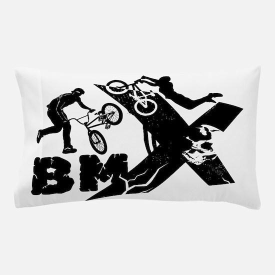 BMX Rider Pillow Case