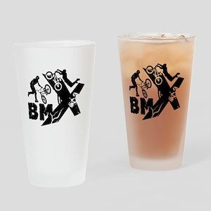 BMX Rider Drinking Glass
