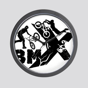 BMX Rider Wall Clock
