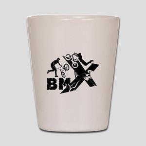 BMX Rider Shot Glass