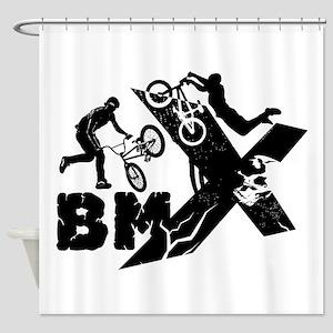 BMX Rider Shower Curtain