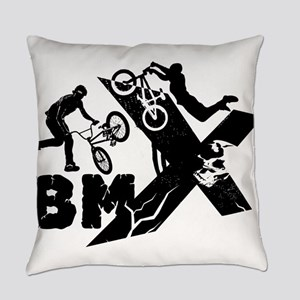 BMX Rider Everyday Pillow