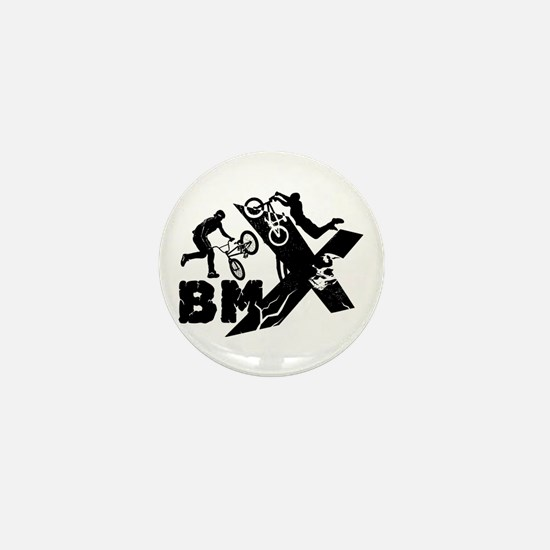 BMX Rider Mini Button