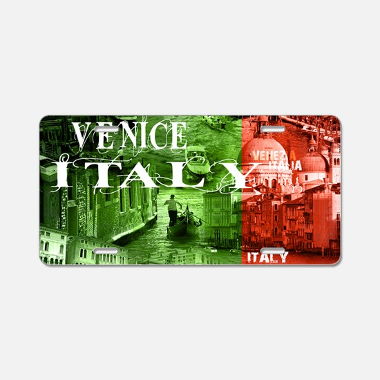 VENICE ITALY CANALS Aluminum License Plate