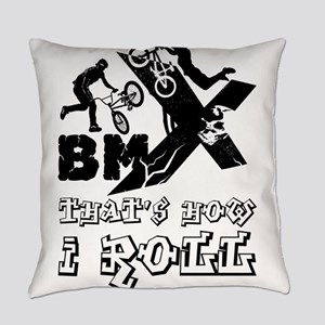 BMX - that's how I roll Everyday Pillow