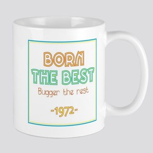 Born the Best 1972 Mugs