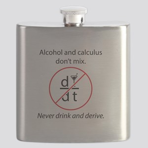Alcohol and Calculus Flask