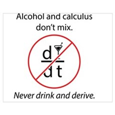 Alcohol and Calculus Poster