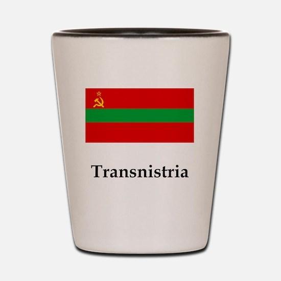 Transnistria Flag Shot Glass