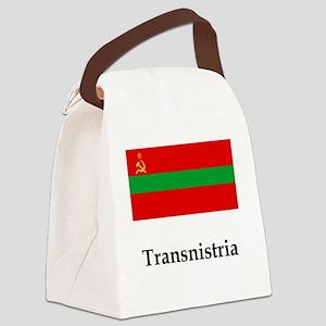 Transnistria Flag Canvas Lunch Bag