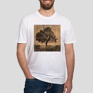 cardboard texture oak tree T-Shirt