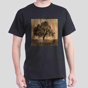 cardboard texture oak tree T-Shirt