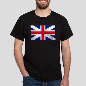 United Kingdom Flag #2 Dark T-Shirt