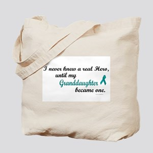 Never Knew A Hero OC (Granddaughter) Tote Bag