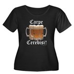 Seize the Beer! Women's Plus Size Scoop Neck Dark