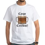 Seize the Beer! White T-Shirt