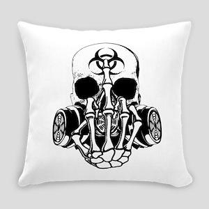 Biohazard Zombie Skull Fuck U Everyday Pillow