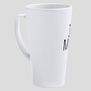 I Love Movies 17 oz Latte Mug