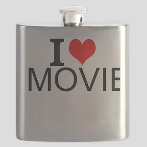 I Love Movies Flask