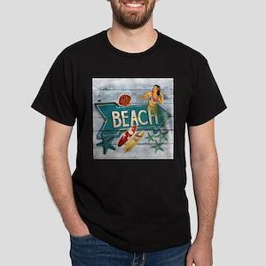 hipster surfer hawaii beach T-Shirt