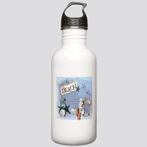beach coral sea shells Stainless Water Bottle 1.0L