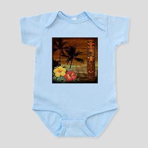totem Hawaiian Hibiscus Flower Body Suit