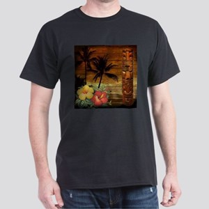 totem Hawaiian Hibiscus Flower T-Shirt