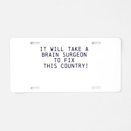 BC-2016 Aluminum License Plate