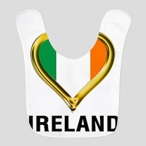 I HEART IRELAND Bib