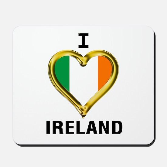 I HEART IRELAND Mousepad