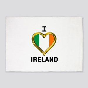 I HEART IRELAND 5'x7'Area Rug