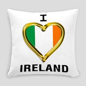 I HEART IRELAND Everyday Pillow