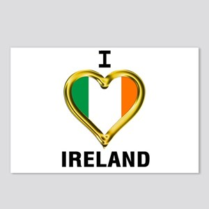 I HEART IRELAND Postcards (Package of 8)