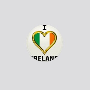 I HEART IRELAND Mini Button