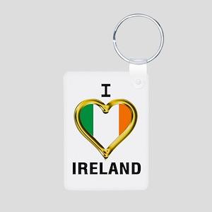 I HEART IRELAND Keychains