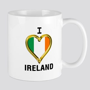 I HEART IRELAND Mugs