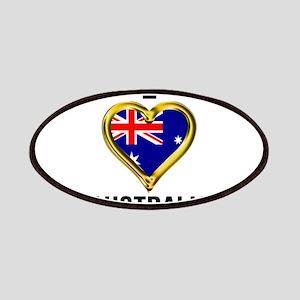 I HEART AUSTRALIA Patch