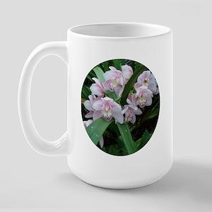 Pink Orchid Large Mug