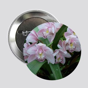 Pink Orchid Button