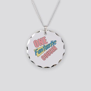One Fantastic Cousin Necklace Circle Charm