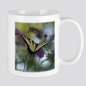 swallow tail with lacy flowers Mugs