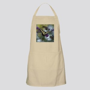 swallow tail with lacy flowers Apron