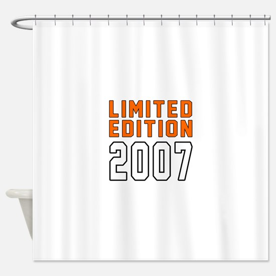 Limited Edition 2007 Shower Curtain