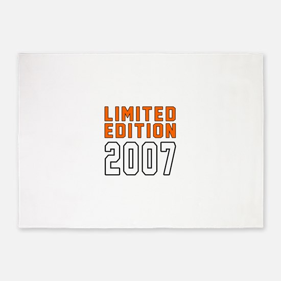 Limited Edition 2007 5'x7'Area Rug