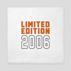 Limited Edition 2006 Queen Duvet