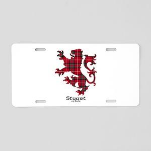Lion-StuartBute Aluminum License Plate