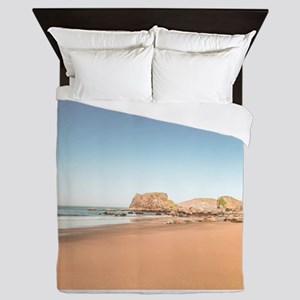 Dessert beach Queen Duvet