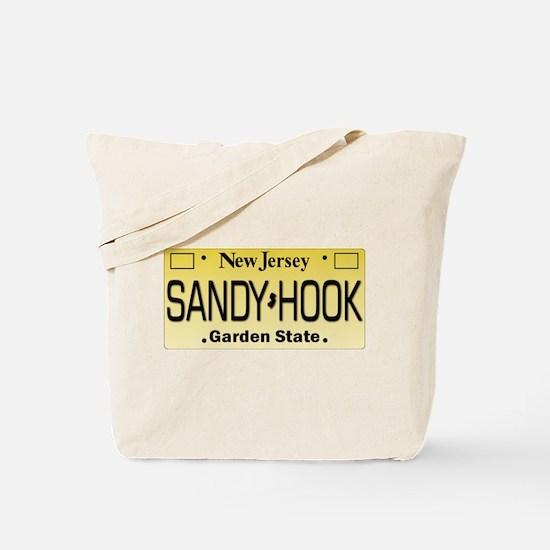 Sandy Hook NJ Tag Giftware Tote Bag